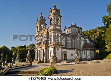 Pictures of Santuario Bom Jesus do Monte, Braga, Portugal.