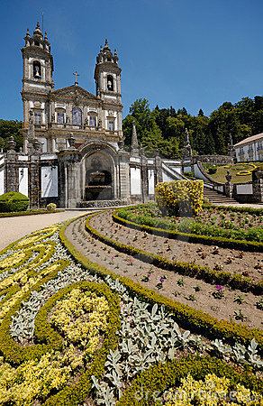 Bom Jesus Do Monte, Braga Stock Images.