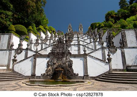 Picture of Bom Jesus Do Monte, Braga, Portugal csp12827878.