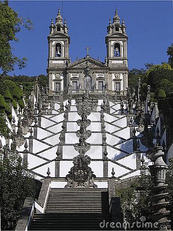 Bom Jesus De Braga, Portugal Royalty Free Stock Photography.