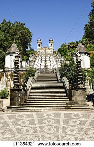 Stock Photography of Bom Jesus do Monte, Braga k11354321.