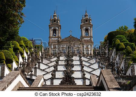 Stock Photo of Bom Jesus, Braga (Portugal) csp2423632.