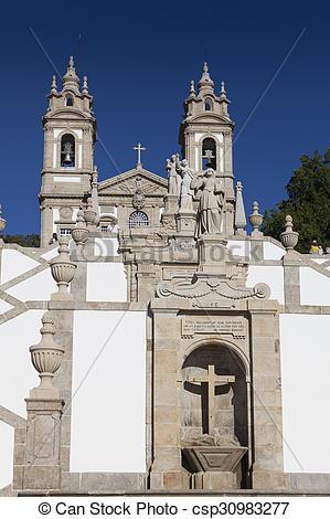 Picture of Bom Jesus do Monte, Braga, Nord, Portugal csp30983277.