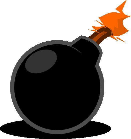 Clip Art Cartoon Bomb Clipart.