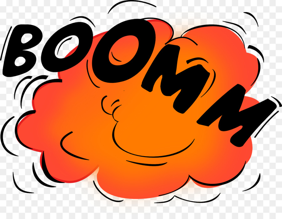 Cartoon Explosion clipart.
