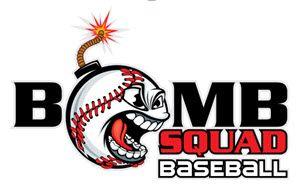 Bomb Squad Baseball Logo by Ariane Kunze.