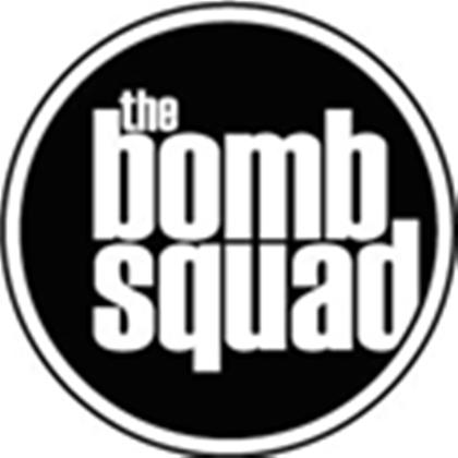 The Bomb Squad Logo.
