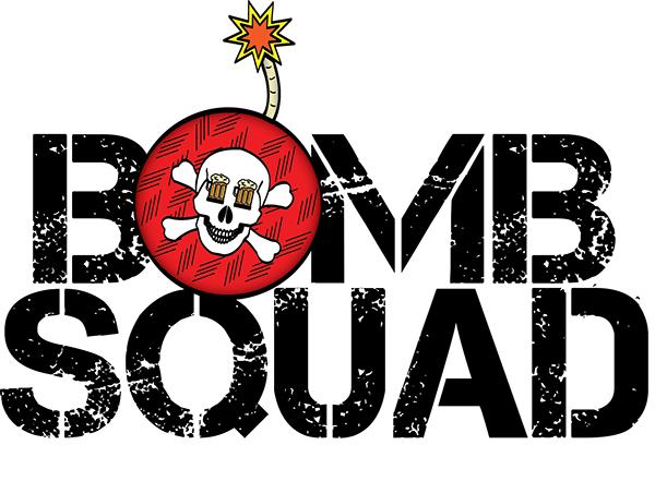 Bomb squad Logos.