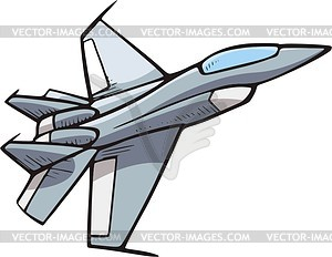 Military bomber plane free clipart.