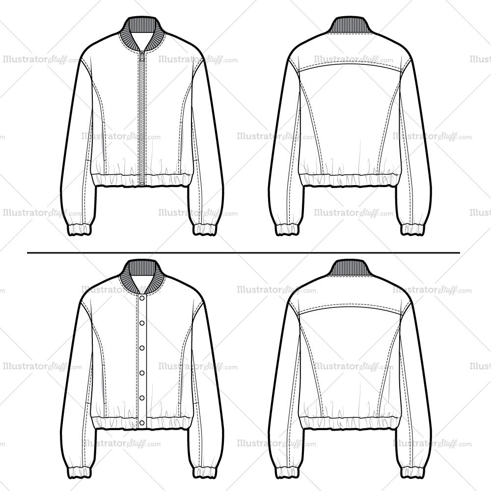 Bomber Jacket Clipart Clipground