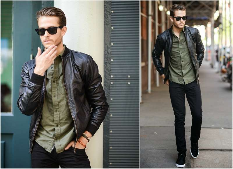 How to Wear a Men's Bomber Jacket.