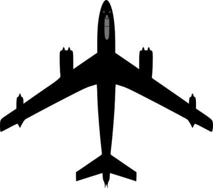 Boeing Plane clip art.