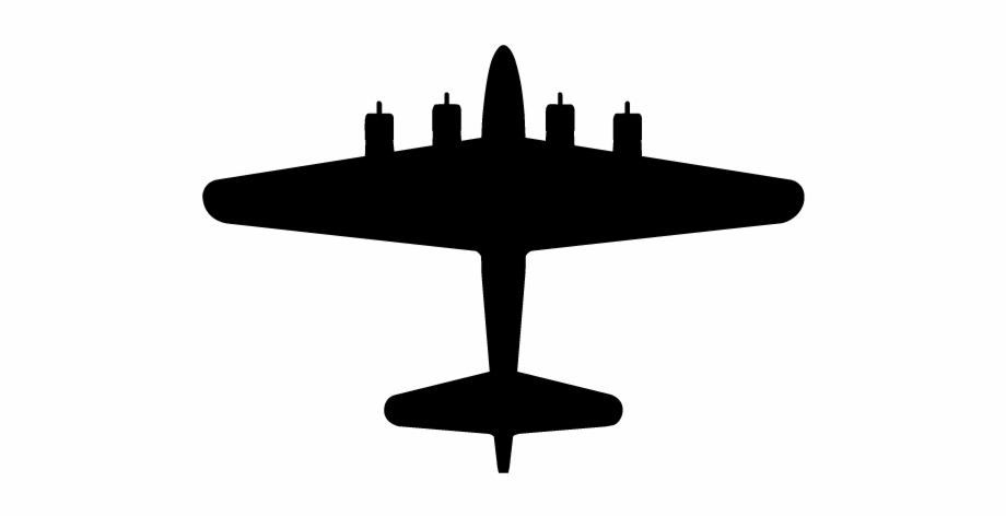 Clipart Airplane Bomber.