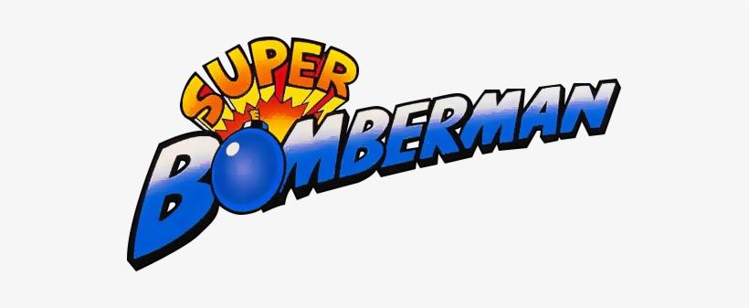 Super Bomberman Logo.
