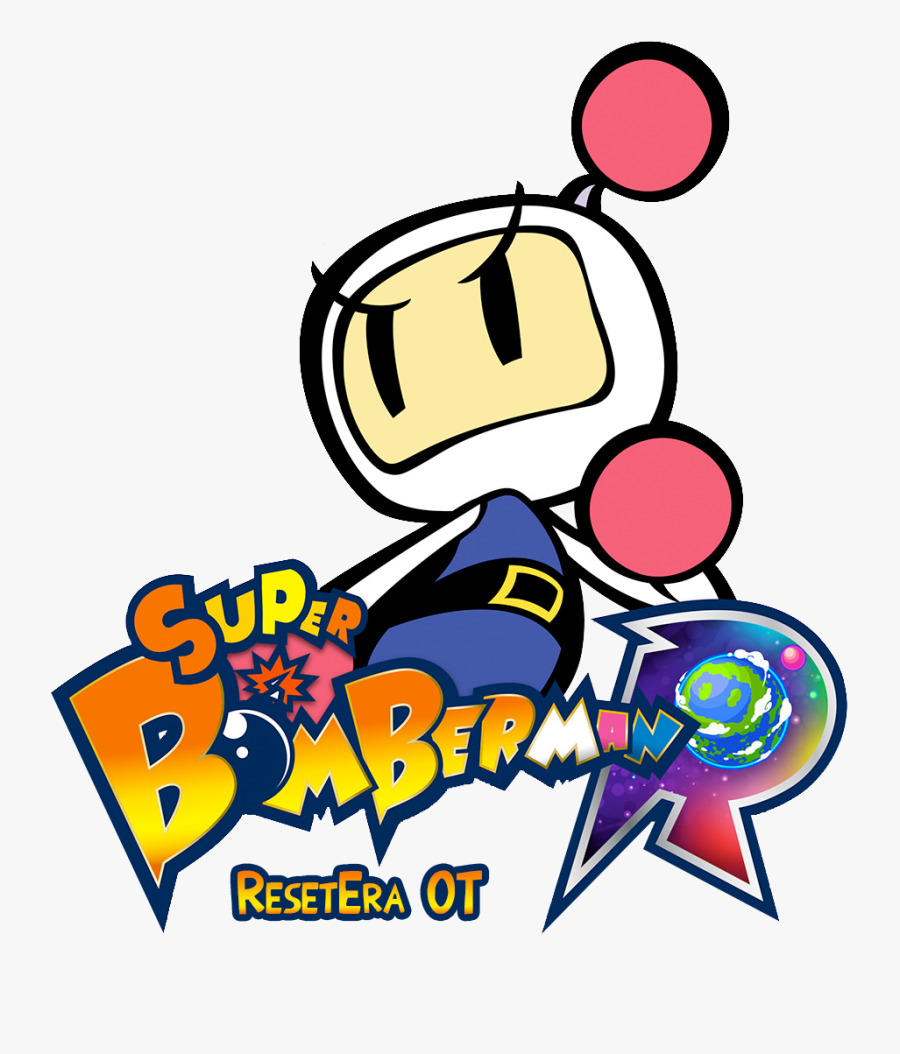 Super Bomberman R Logo , Free Transparent Clipart.