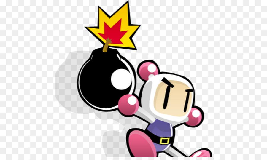 Bomberman Atomic Punk Bomberman Blitz Cartoon Pink.
