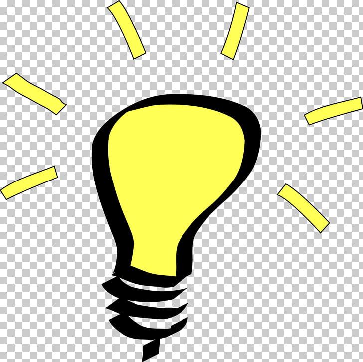 Bombilla incandescente idea, bombilla PNG Clipart.