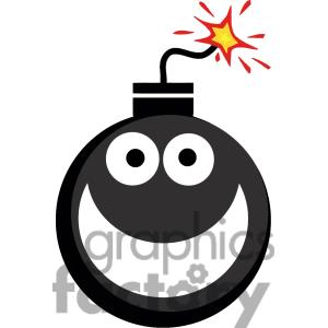 Bomb Silhouette Clipart.