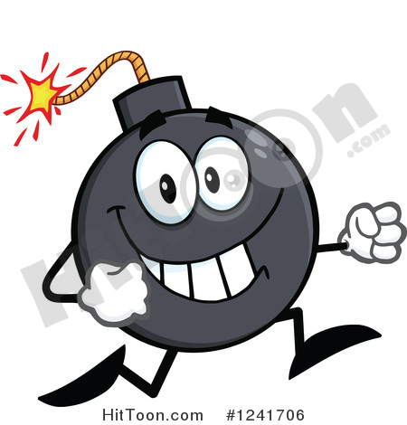 Bombs Clipart #1.