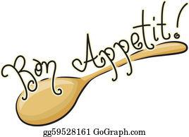 Bon Appetit Clip Art.