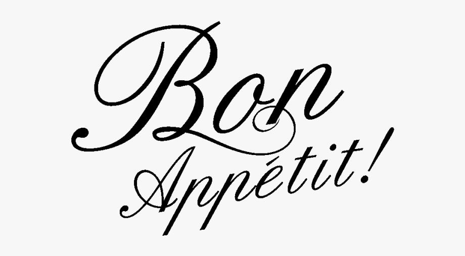 Bon Appetit Png.