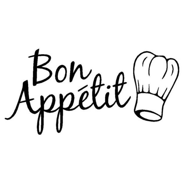Bon appetit Logos.