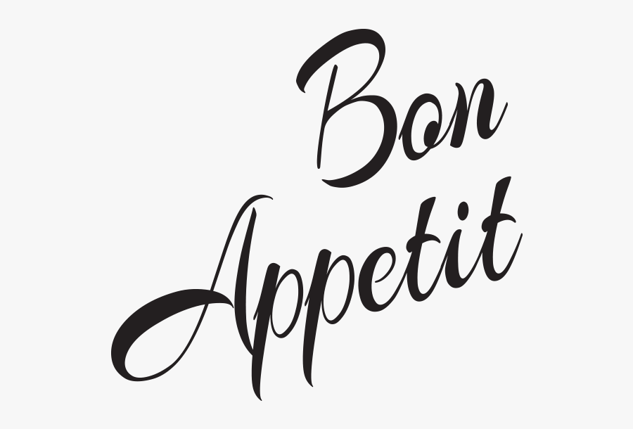 Transparent Bon Appetit Clipart.