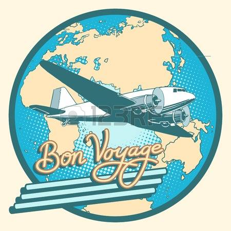 591 Bon Voyage Stock Vector Illustration And Royalty Free Bon.