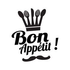 Bon appetit clipart.