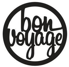 Free Bon Voyage Clip Art.