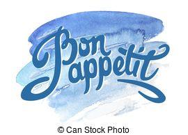 Bon appetit Vector Clip Art Royalty Free. 340 Bon appetit clipart.