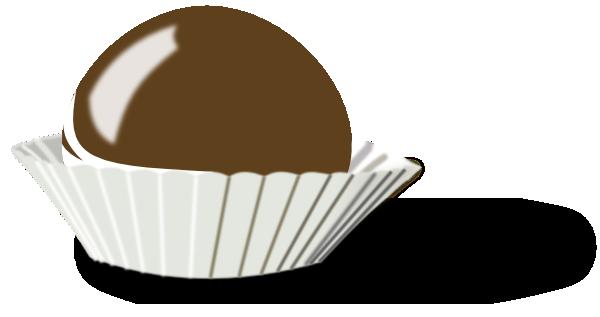 Chocolate Bon Bon Clip Art at Clker.com.