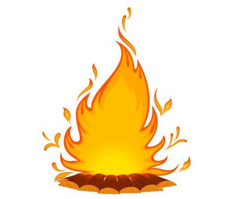 Best Bonfire Clipart #19070.