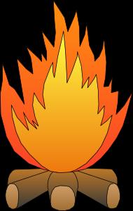 Bonfire Cartoon.