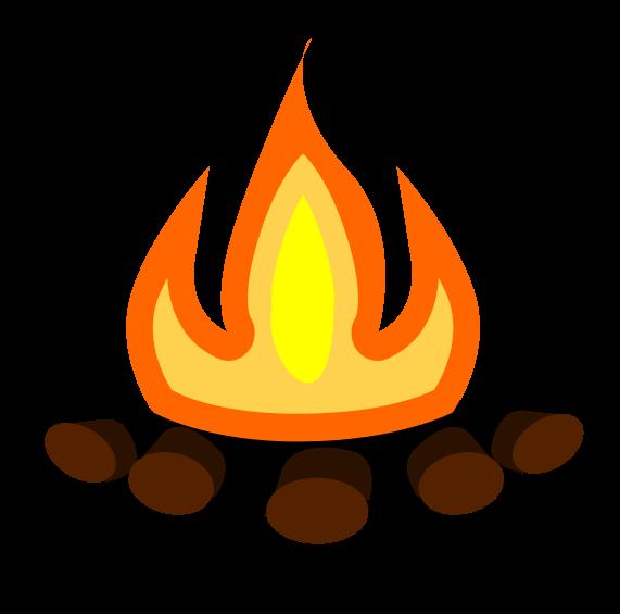 Bonfire Clipart.