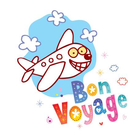 1,077 Bon Voyage Stock Vector Illustration And Royalty Free Bon.