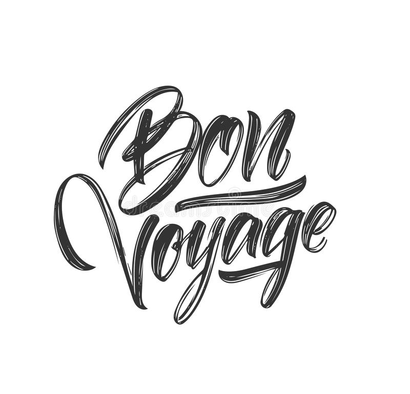 Bon Voyage Stock Illustrations.