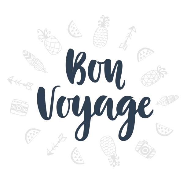 Best Bon Voyage Illustrations, Royalty.