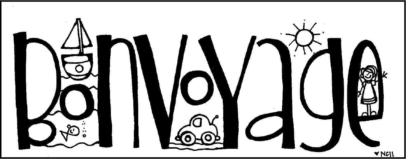95+ Bon Voyage Clip Art.