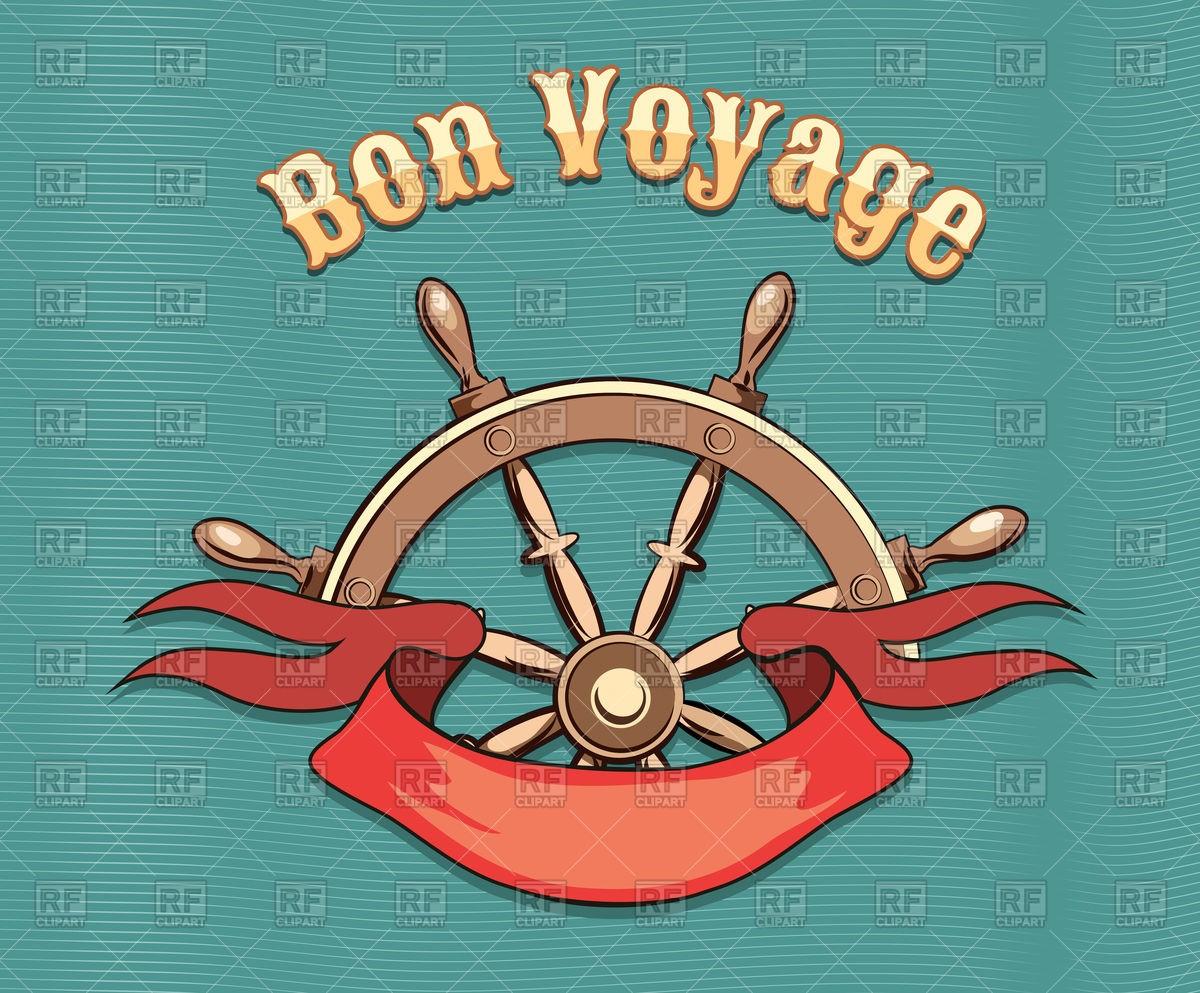 Bon Voyage Clip Art.