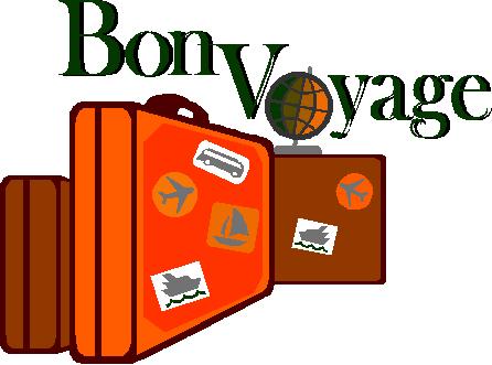 94+ Bon Voyage Clip Art.