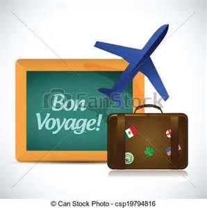 free clip art bon voyage.