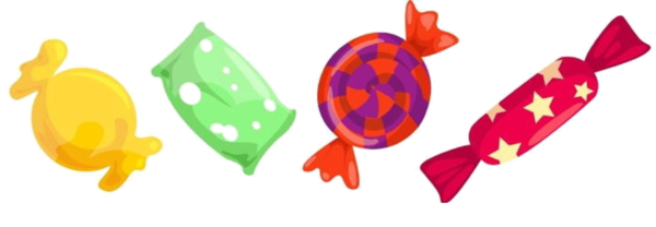 Bonbon PNG images.