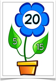 Number bond clipart.