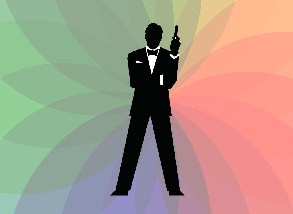 Bond cliparts.