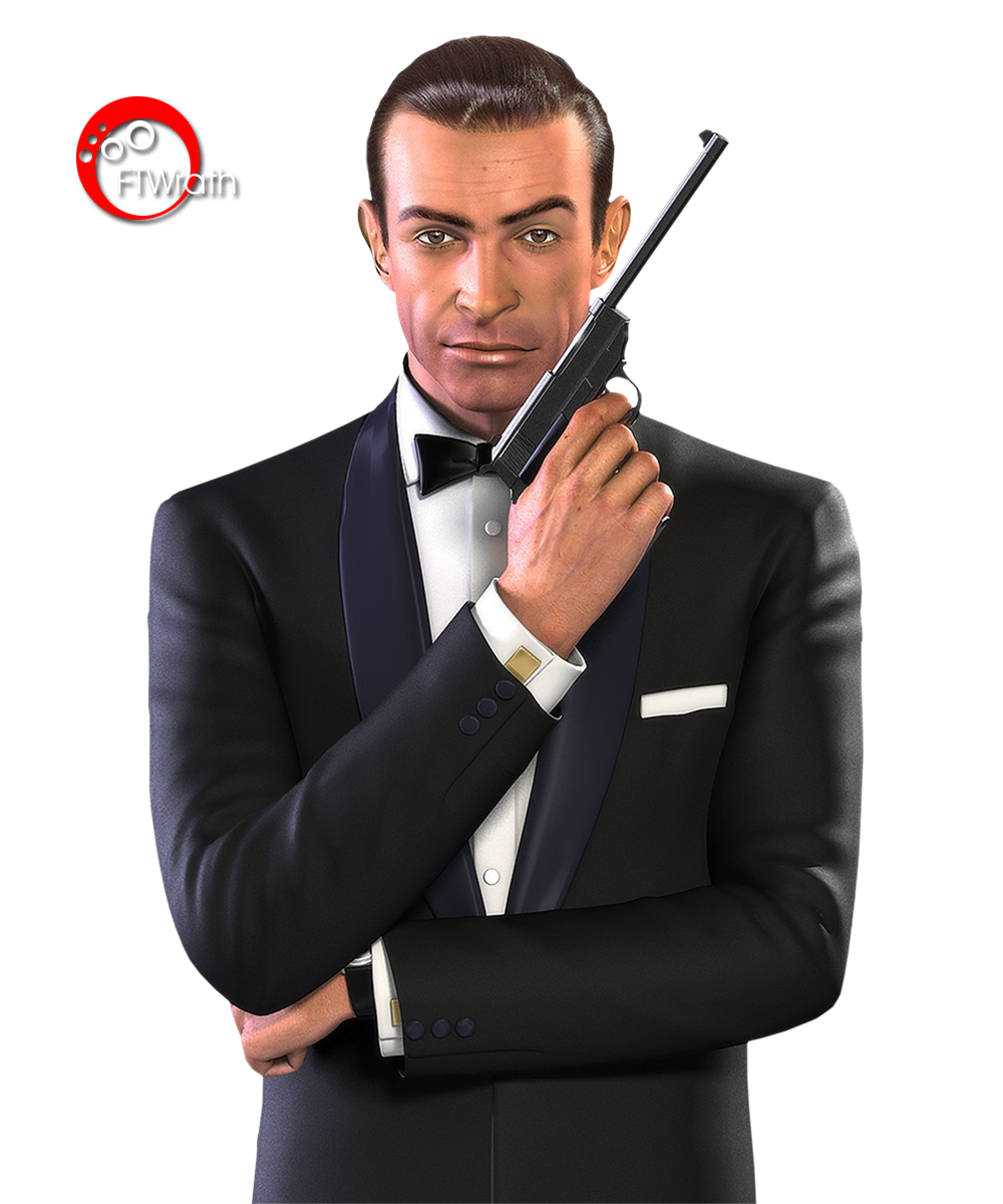 Download James Bond Transparent Image HQ PNG Image.