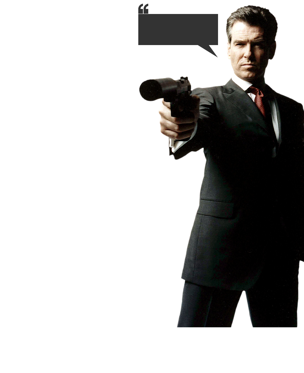 Download James Bond PNG Image For Designing Projects.