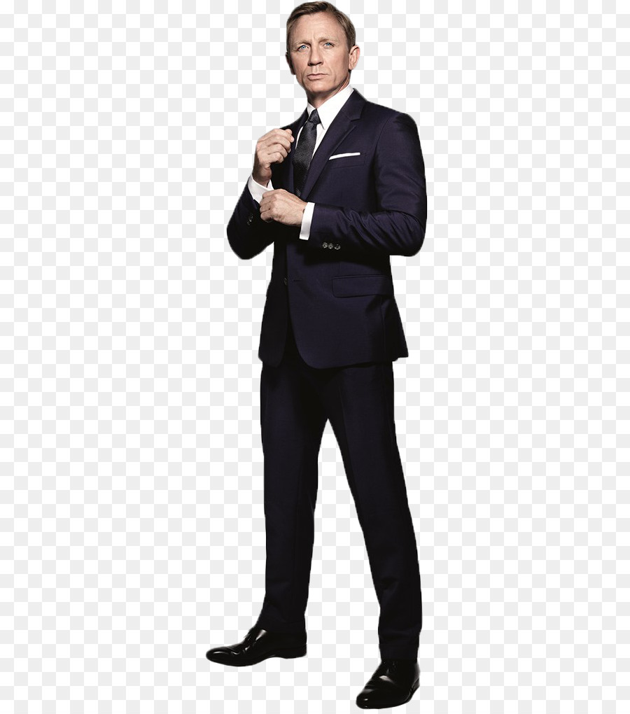 Daniel Craig Suit png download.