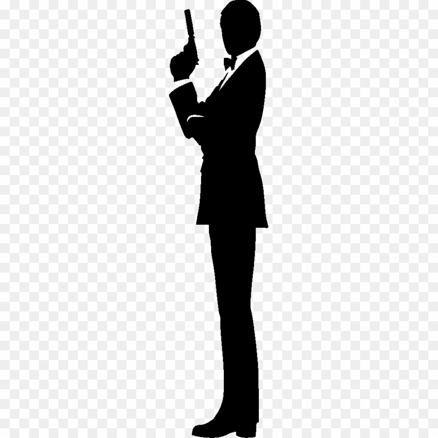 Silhouette James Bond PNG James Bond Silhouette Clipart download.