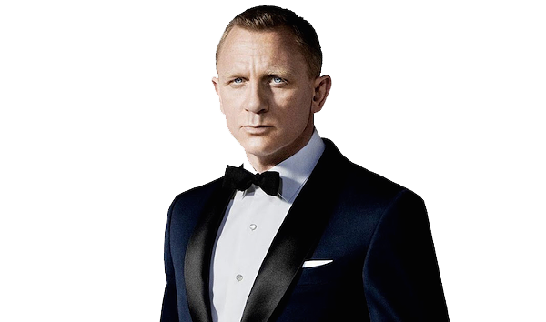 Download James Bond PNG HD.